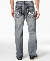 Inc International Concepts Men's Garvey Relaxed Fit Dark Wash Jeans Only At Macy's