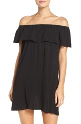 Becca Women's Southern Belle Off The Shoulder Cover Up Dress