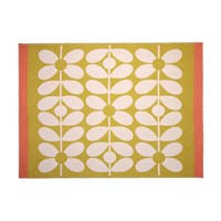 Orla Kiely Sixties Stem Throw Straw