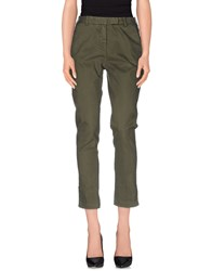 Qcqc Trousers Casual Trousers Women Military Green
