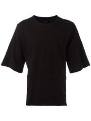 Thom Krom Half Sleeve T Shirt Black