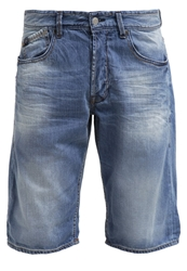 Japan Rags Texas Denim Shorts Blue Blue Denim
