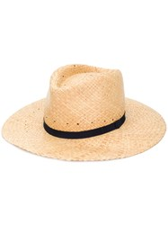 Paul Smith Woven Hat Brown