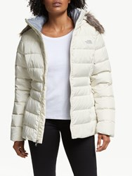 The North Face Gotham Ii Down 'S Waterproof Jacket Vintage White