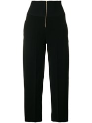 Carven Cropped Trousers Black