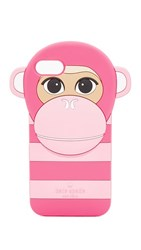 Kate Spade New York Silicone Monkey Iphone 7 Case Pink Multi