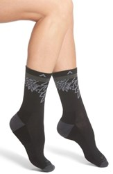 Wigwam Women's Haiku Valley Crew Socks Black