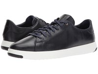 Cole Haan Grandpro Tennis Marine Blue Leather Suede Shoes