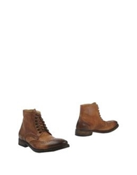 Cavallini Ankle Boots Camel