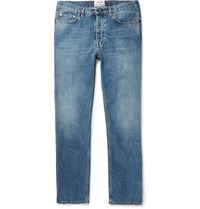 Acne Studios Van Stonewashed Denim Jeans Blue