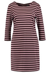 Vila Vitinny Jersey Dress Chocolate Plum Dark Brown