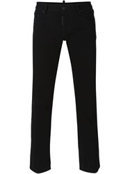 Dsquared2 'Sexy Cropped Boot Cut' Jeans Black