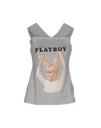 Duck Farm Topwear Tops Women Grey