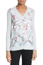 Ted Baker Women's London Crimsie Floral Print Pullover