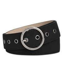 Styleandco. Style Co. Grommet Belt Only At Macy's Black