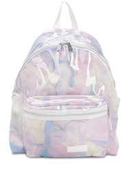 Eastpak 24L Padded Pak'r Transparent Backpack Marble