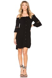 Maven West Lexi Pocket Dress Black
