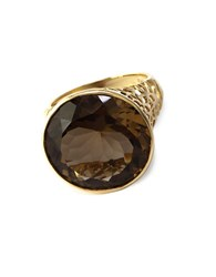 Effy Smoky Quartz Ring In 14K Rose Gold Smokey Quartz