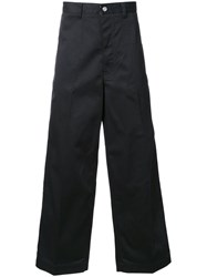 Facetasm Wide Legged Trousers Black