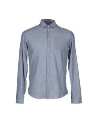 Folk Shirts Shirts Men Slate Blue
