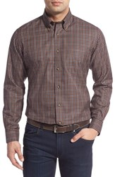 Men's Brooks Brothers Regular Fit Long Sleeve Plaid Twill Sport Shirt