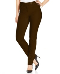 Charter Club Skinny Pants Only At Macy's Rich Truffle