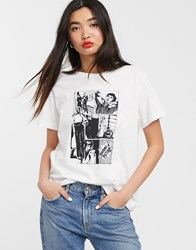 Soaked In Luxury New Print T Shirt White