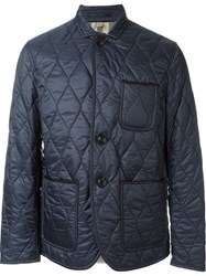 Burberry Brit Quilted Classic Jacket Blue