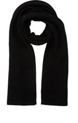 Barneys New York Knit Oversized Scarf Black