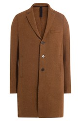 Harris Wharf London Alpaca Coat Brown