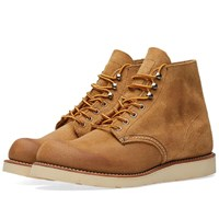 Red Wing Shoes 8181 Heritage Work Round Toe Boot Neutrals