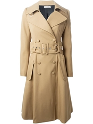 Bouchra Jarrar Flared Trench Coat