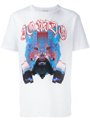 Marcelo Burlon County Of Milan Tomas T Shirt White