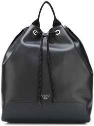 Emporio Armani Bucket Backpack Black