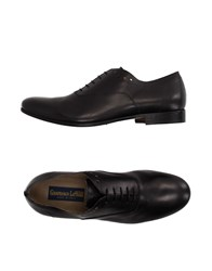 Gianfranco Lattanzi Footwear Lace Up Shoes Men Black
