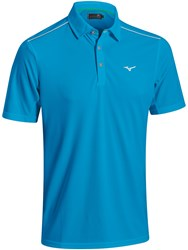 Mizuno Plain Polo Blue