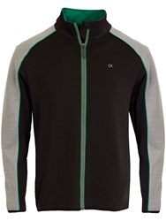 Calvin Klein Transtex Full Zip Jumper Black
