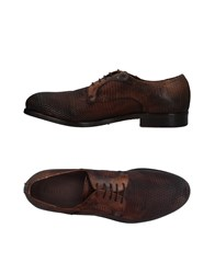 Pawelk's Lace Up Shoes Brown