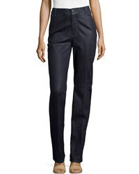 Stella Mccartney High Waisted Straight Leg Jeans