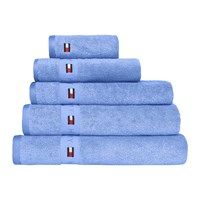 Tommy Hilfiger Plain Seaside Towel Blue