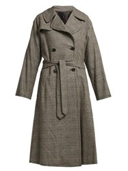 Nili Lotan Topher Belted Trench Coat Grey