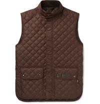 Belstaff Quilted Shell Gilet Green