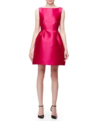 Kate Spade Sleeveless Open Back Fit And Flare Dress Sweetheart Pink
