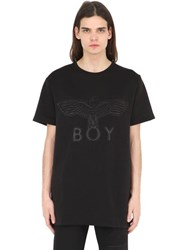 Boy London Eagle Neoprene Patch Cotton T Shirt