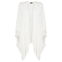 Phase Eight Casey Open Side Cardigan White