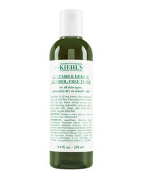 Cucumber Herbal Alcohol Free Toner 8.4 Fl. Oz. Kiehl's Since 1851
