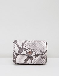Dune Kimberley Foldover Coin Purse Grey Multi