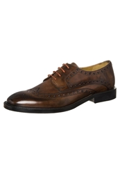 Melvin And Hamilton Matthew Laceups Crust Wood Brown