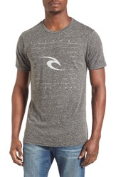 Rip Curl Men's Solitary Graphic T Shirt Black