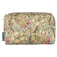 Heathcote And Ivory Morris And Co. Golden Lily Cosmetics Bag